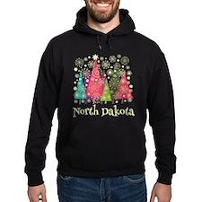 North Dakota Christmas Hoodie