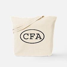 CFA Oval Tote Bag