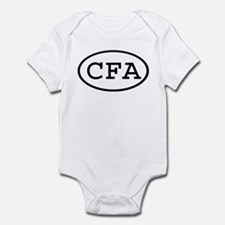 CFA Oval Infant Bodysuit