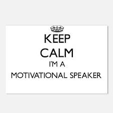 Keep calm I'm a Motivatio Postcards (Package of 8)