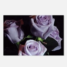 Lavender Rose Bouquet Postcards (Package of 8)