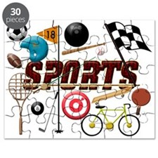 Sports Collage Puzzle