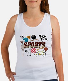 Sports Collage Tank Top