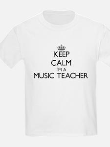 Keep calm I'm a Music Teacher T-Shirt