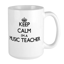Keep calm I'm a Music Teacher Mugs