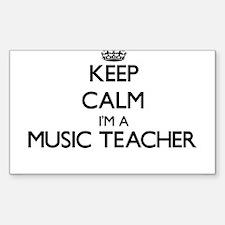 Keep calm I'm a Music Teacher Decal