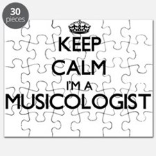 Keep calm I'm a Musicologist Puzzle