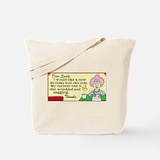 Aunty Acid Birthday Suit Tote Bag