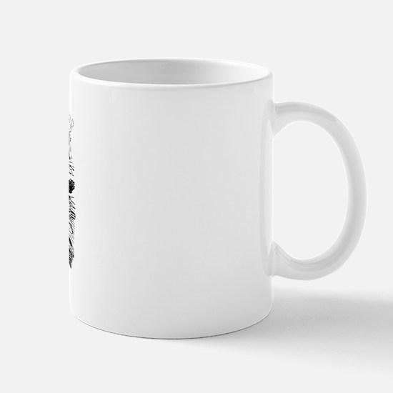 Alice's Black Kitten Mug