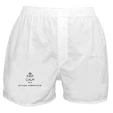 Keep calm I'm a Network Administrator Boxer Shorts