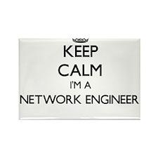 Keep calm I'm a Network Engineer Magnets