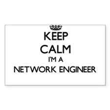 Keep calm I'm a Network Engineer Decal