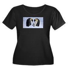 emperor penguins Plus Size T-Shirt