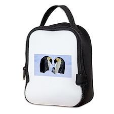 emperor penguins Neoprene Lunch Bag