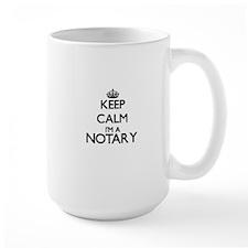 Keep calm I'm a Notary Mugs