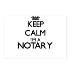 Keep calm I'm a Notary Postcards (Package of 8)