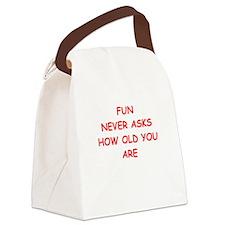 fun Canvas Lunch Bag