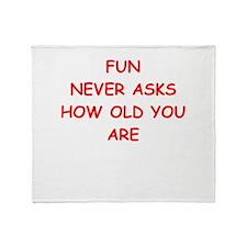 fun Throw Blanket