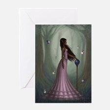 Minira in the Forest Greeting Cards