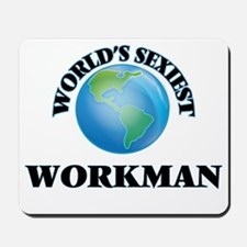 World's Sexiest Workman Mousepad
