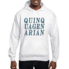 Quinquagenarian, 50 Hoodie