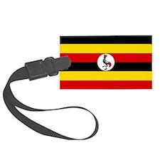 Uganda Flag Luggage Tag