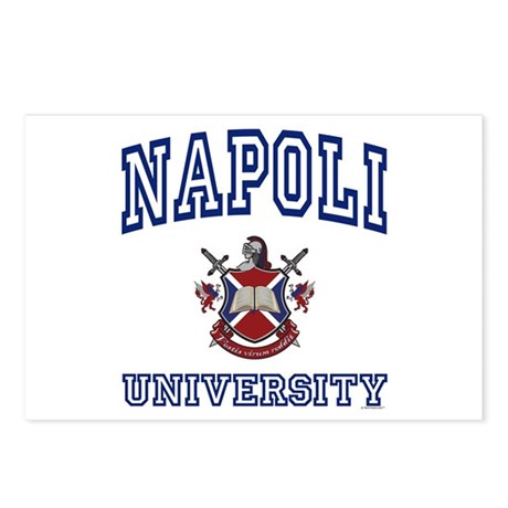 NAPOLI University Postcards (Package of 8)