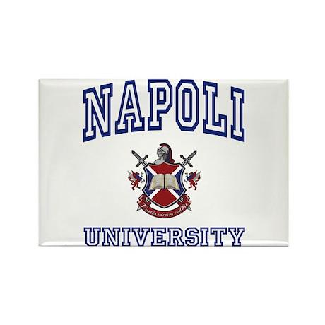 NAPOLI University Rectangle Magnet