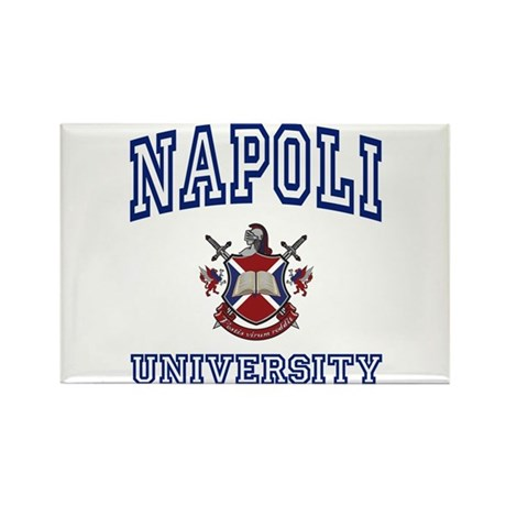 NAPOLI University Rectangle Magnet (10 pack)