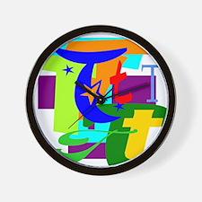 Initial Design (T) Wall Clock