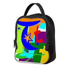 Initial Design (T) Neoprene Lunch Bag