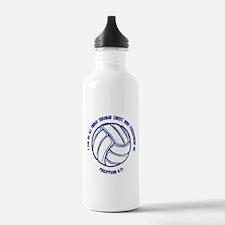 PHILIPPIANS 4:13 Sports Water Bottle