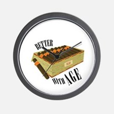 Better With Age Wall Clock