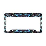 Abalone License Plate Frames