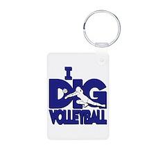 I DIG VB (2-sided) Keychains
