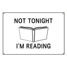 Not tonight I'm reading Banner
