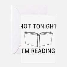 Not tonight I'm reading Greeting Cards