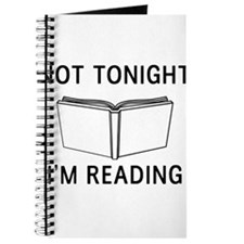 Not tonight I'm reading Journal