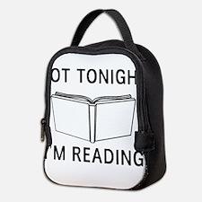 Not tonight I'm reading Neoprene Lunch Bag