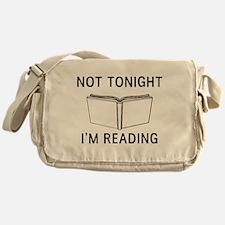Not tonight I'm reading Messenger Bag