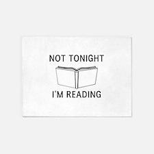 Not tonight I'm reading 5'x7'Area Rug