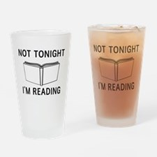 Not tonight I'm reading Drinking Glass
