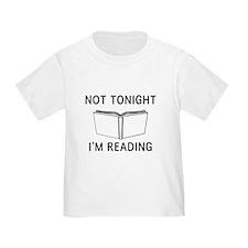 Not tonight I'm reading T-Shirt
