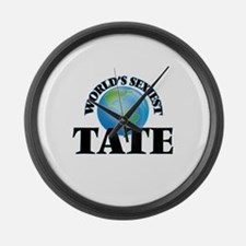 World's Sexiest Tate Large Wall Clock