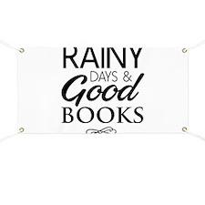 Rainy days and good books Banner