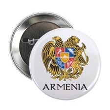 Armenian Coat of Arms Button