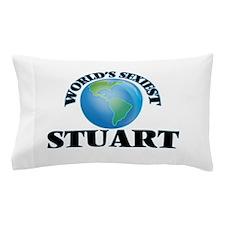 World's Sexiest Stuart Pillow Case