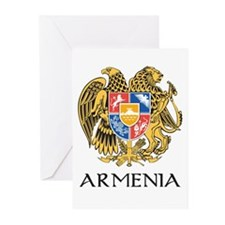 Armenian Coat of Arms Greeting Cards (Pk of 10