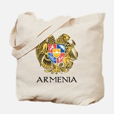 Armenian Coat of Arms Tote Bag