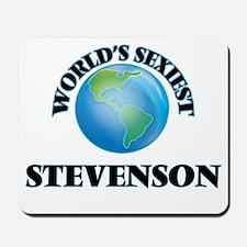 World's Sexiest Stevenson Mousepad